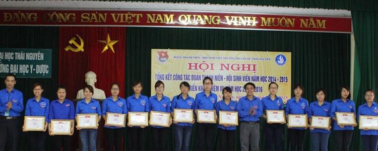 Hội nghị tổng kết công tác Đoàn Thanh niên – Hội Sinh viên năm học 2014 – 2015 và triển khai nhiệm vụ năm học 2015 – 2016.